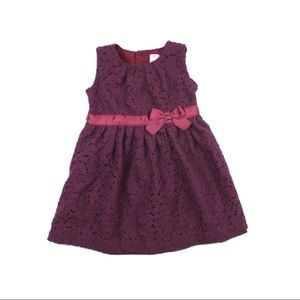 Toddler Girls Lace Dress,Size 24 Months